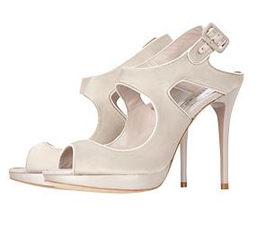 Νυφικά παπούτσια Karen Millen