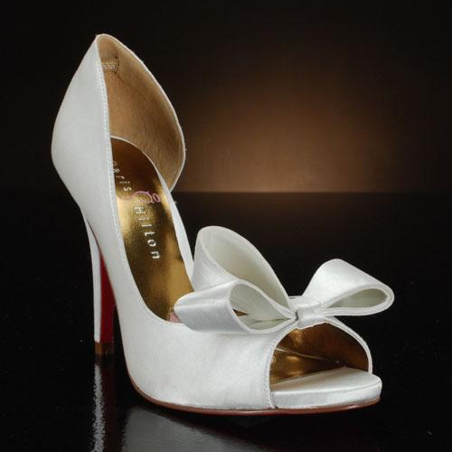 Νυφικά παπούτσια Paris Hilton