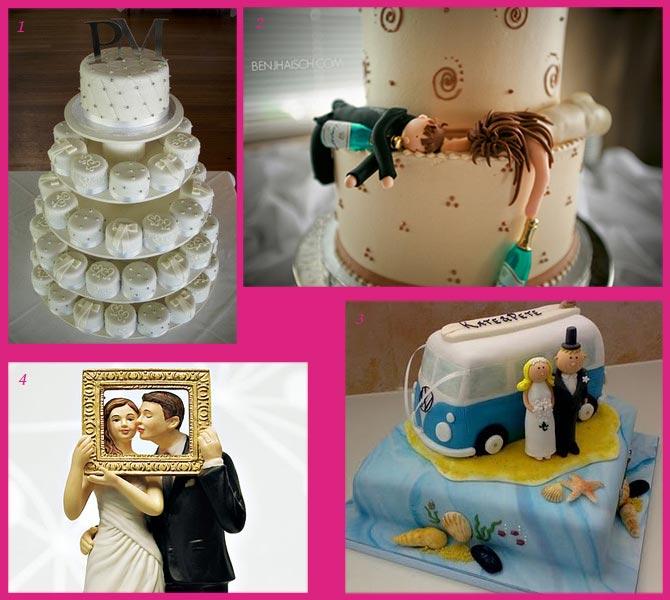 Ξεχωριστές τούρτες γάμου