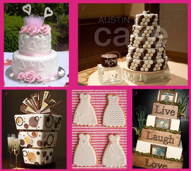 Ιδιαίτερες τούρτες γάμου