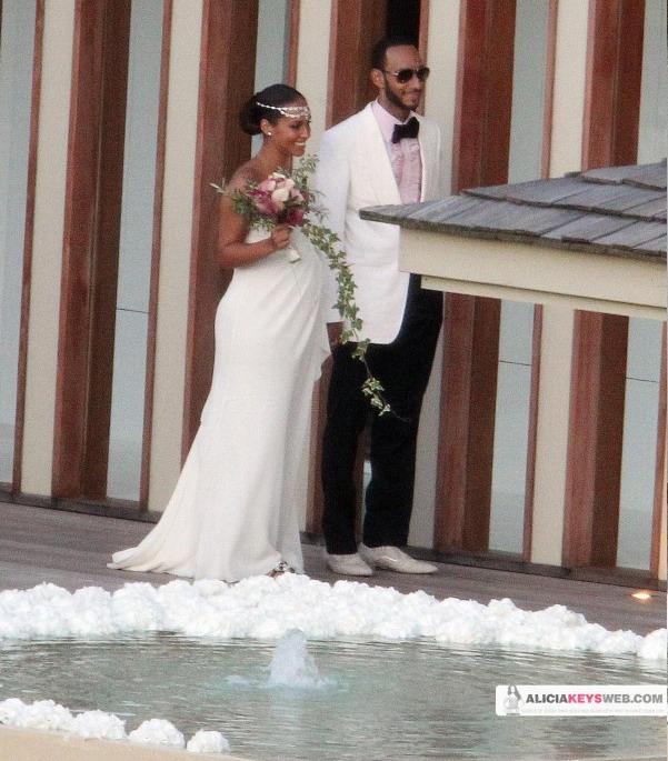Γαμπρός και νύφη ο Swizz Beatz και η Alicia Keys