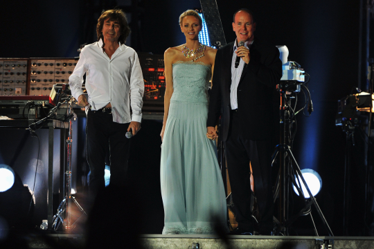 civil wedding Prince Albert II Charlene Wittstock Jean Michelle Jarre