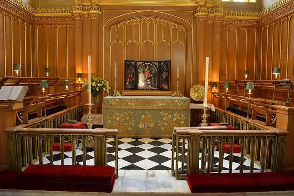 παρεκκλήσι St James στο παλάτι
