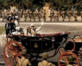 Στιγμιότυπο από τον γάμο του πρώην βασιλικού ζεύγους της Ελλάδας