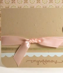 Χειροποίητες κάρτες ευχών για τον γάμο, τον αρραβώνα, την αποφοίτηση, την μητρότητα