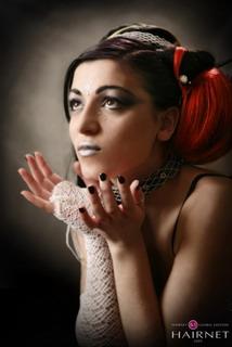 Η Irini Fousteli παρουσιάζοντας τη νύφη του 2050 συμμετέχει στον online διαγωνισμό κομμωτικής