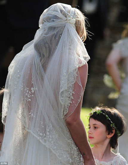 Kate Moss was wonderful on her wedding