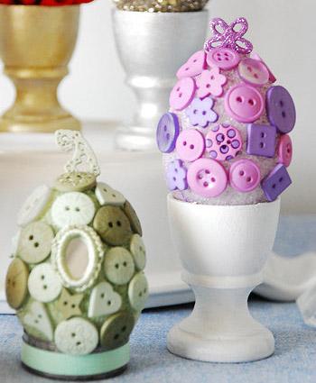 Πασχαλινά αυγά διακοσμημένα με αυγά