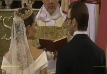 Ο γάμος της πριγκίπισσας Βικτώριας της Σουηδίας