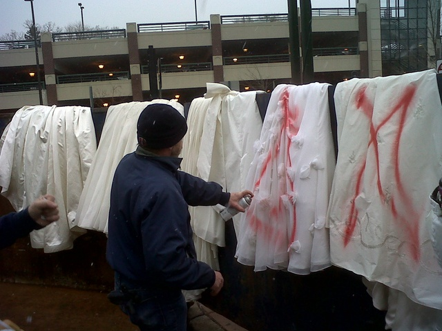 priscilla of boston destroys wedding dresses