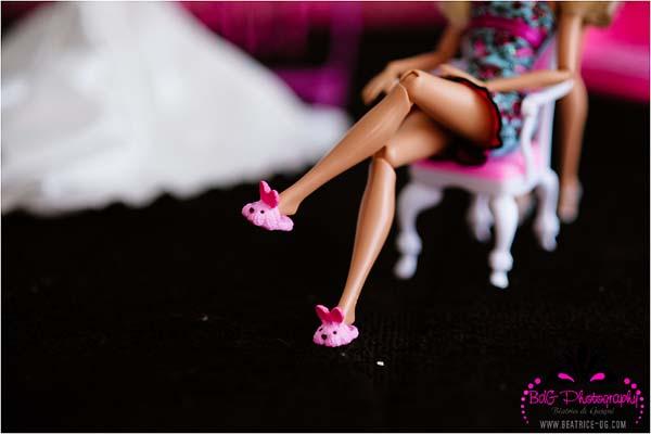 proetoimasia tis Barbie os nifi