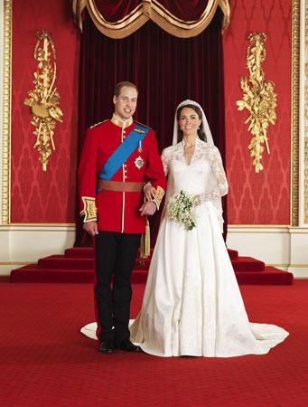 Γαμήλια φωτογραφία του πρίγκιπα William & της Katherine Middleton