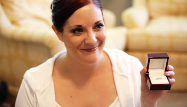 same day edit wedding video from bride & groom preparations