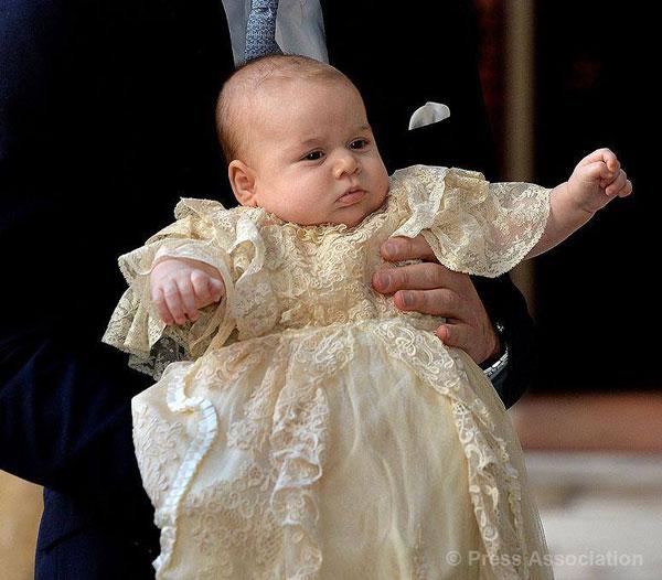 Βάπτιση του πρίγκηπα George Alexander Louis