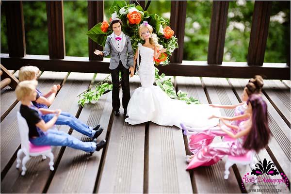 wedding barbie ken
