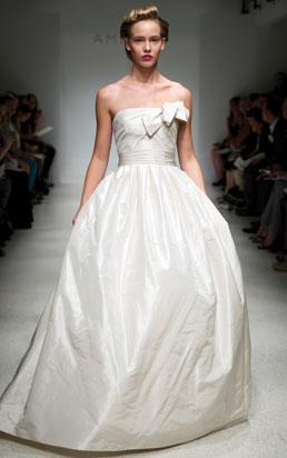 wedding dress amsale 2012