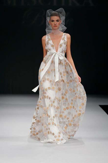 wedding dress badgley mischka spring 2012