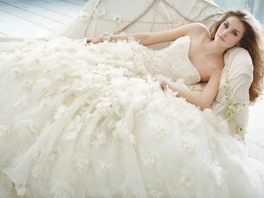wedding dress jim hjelm spring 2012