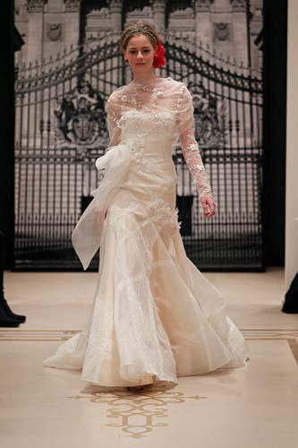 wedding dress reem acra spring 2012