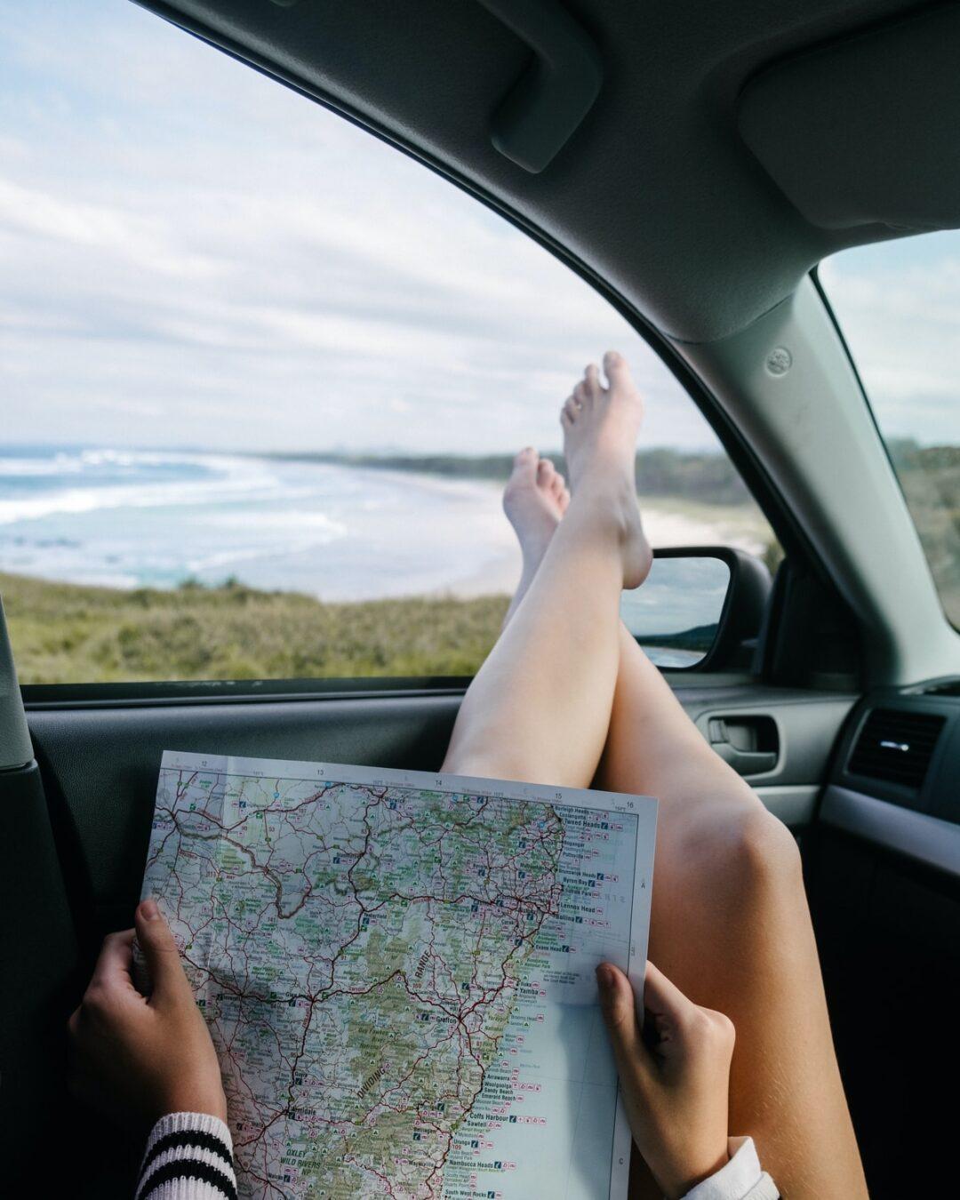 χάρτης για διακοπές με φίλους
