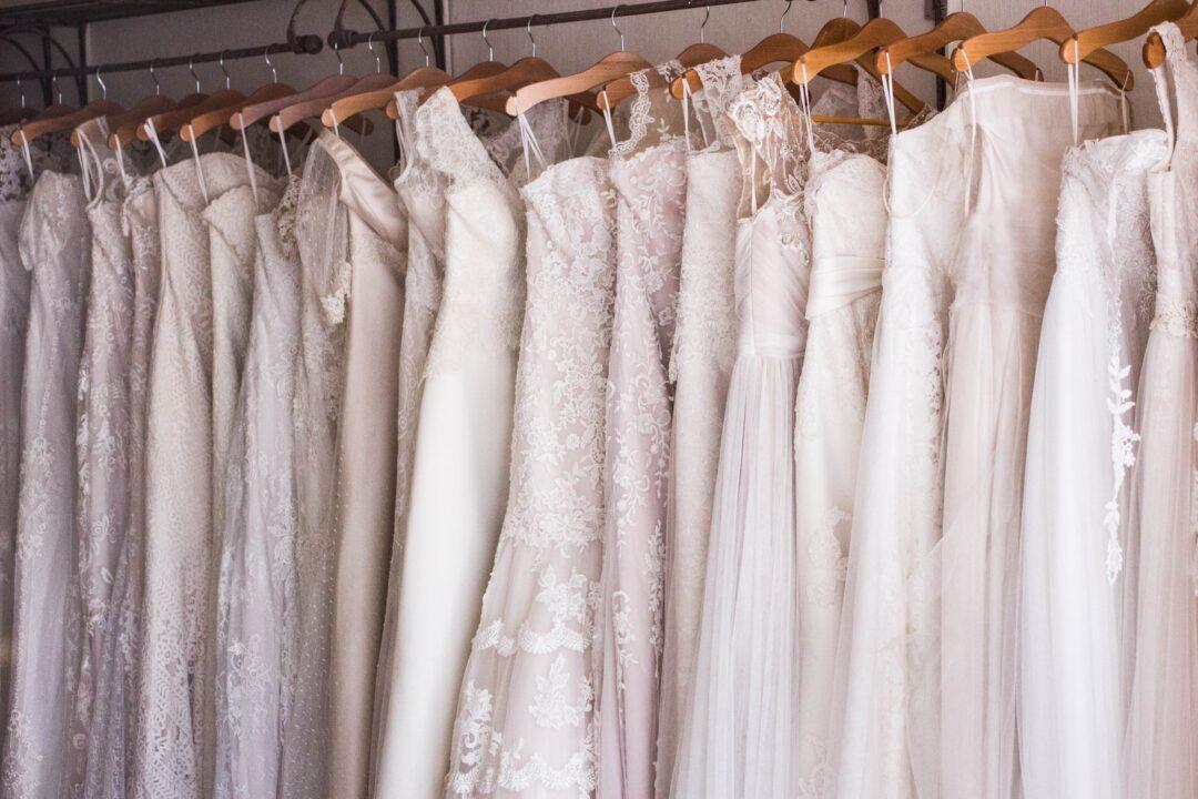 κατάστημα με νυφικά και προετοιμασίες νύφης