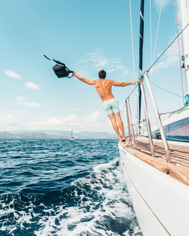 γαμήλιο ταξίδι με σκάφος