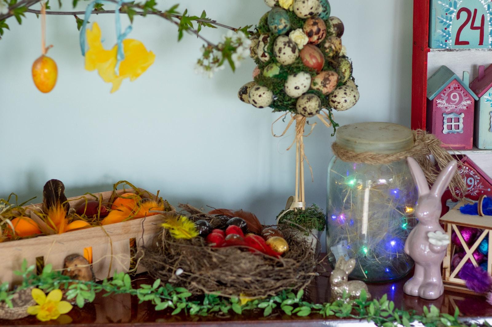 ιδέες για διακόσμηση βάφτισης το Πάσχα