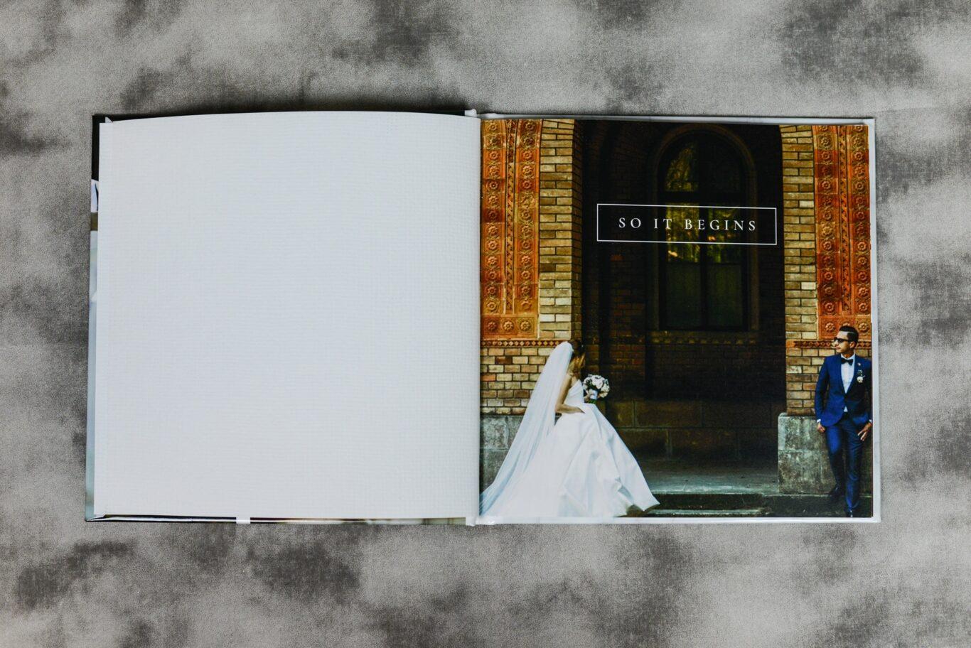 Οργάνωση φωτογραφιών γάμου σε άλμπουμ