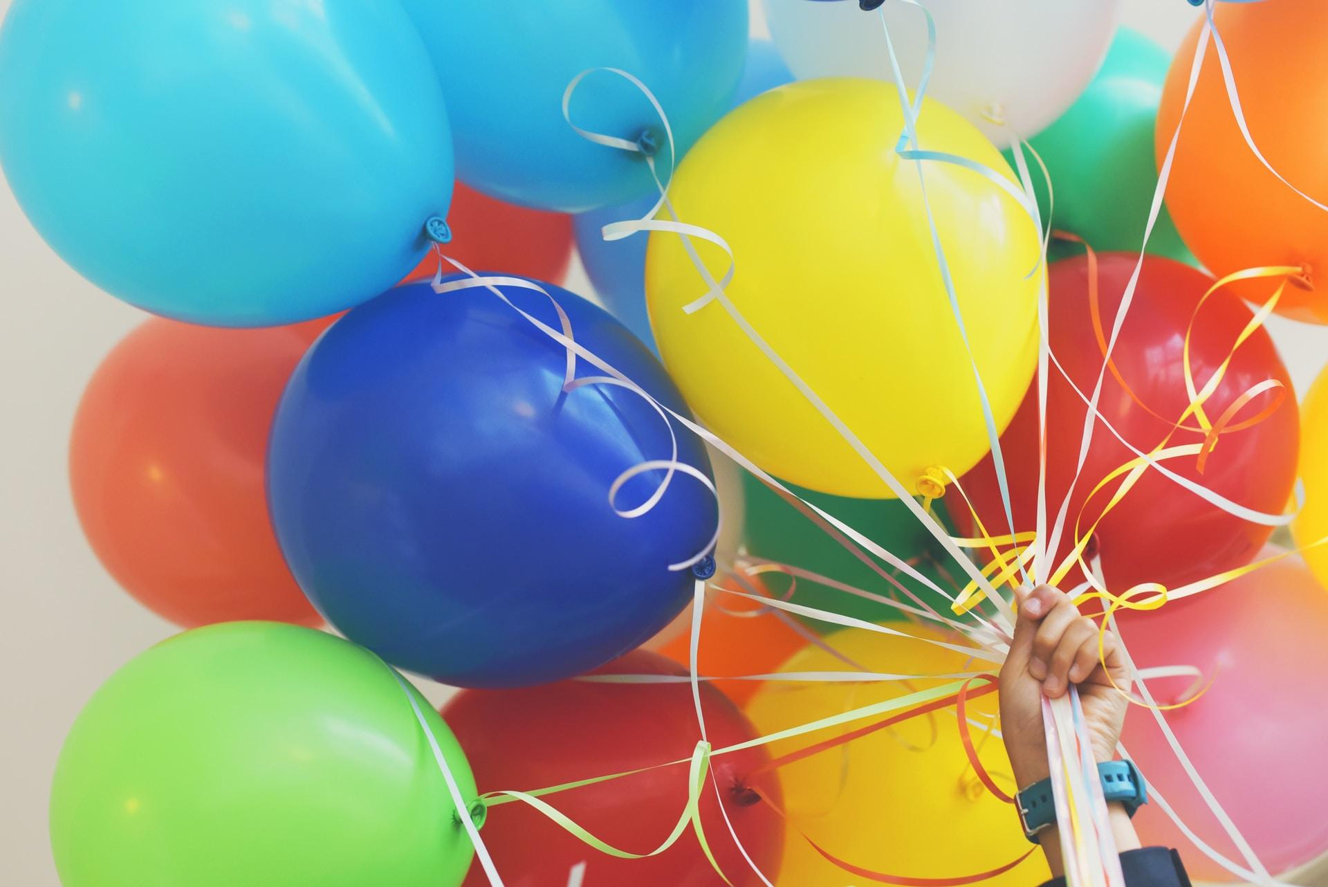 διακόσμηση γάμου με μπαλόνια