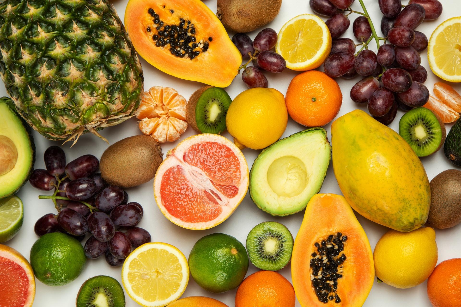 διατροφή με φρούτα και λαχανικά