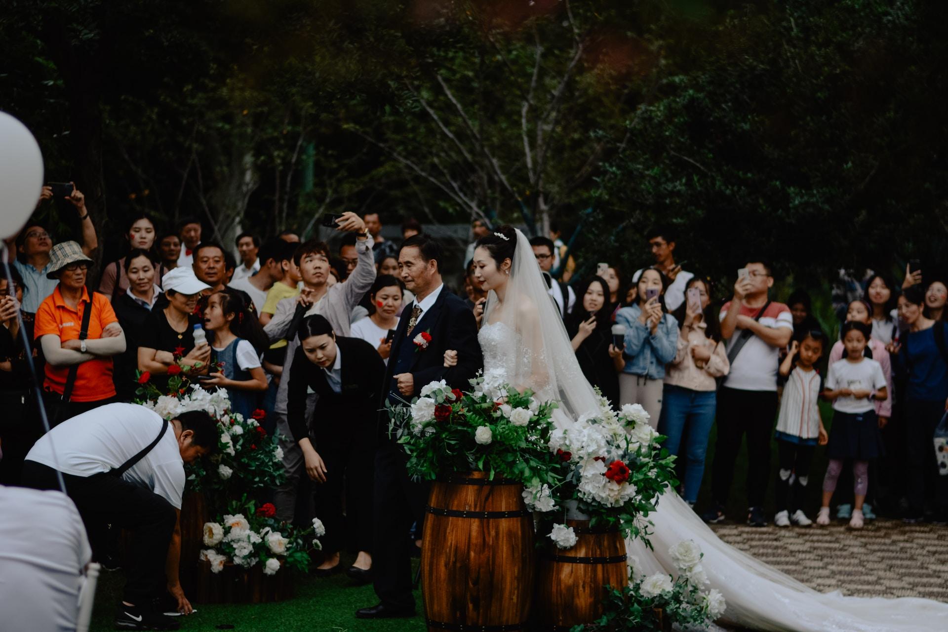 οργάνωση του γάμου