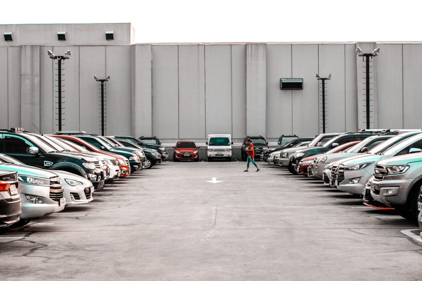 Parking στο χώρο της δεξίωσης
