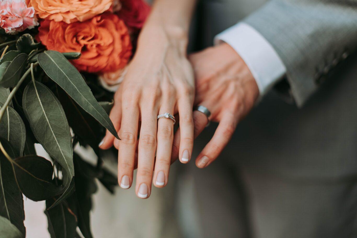 η ένωση χεριών στο μυστήριο του γάμου