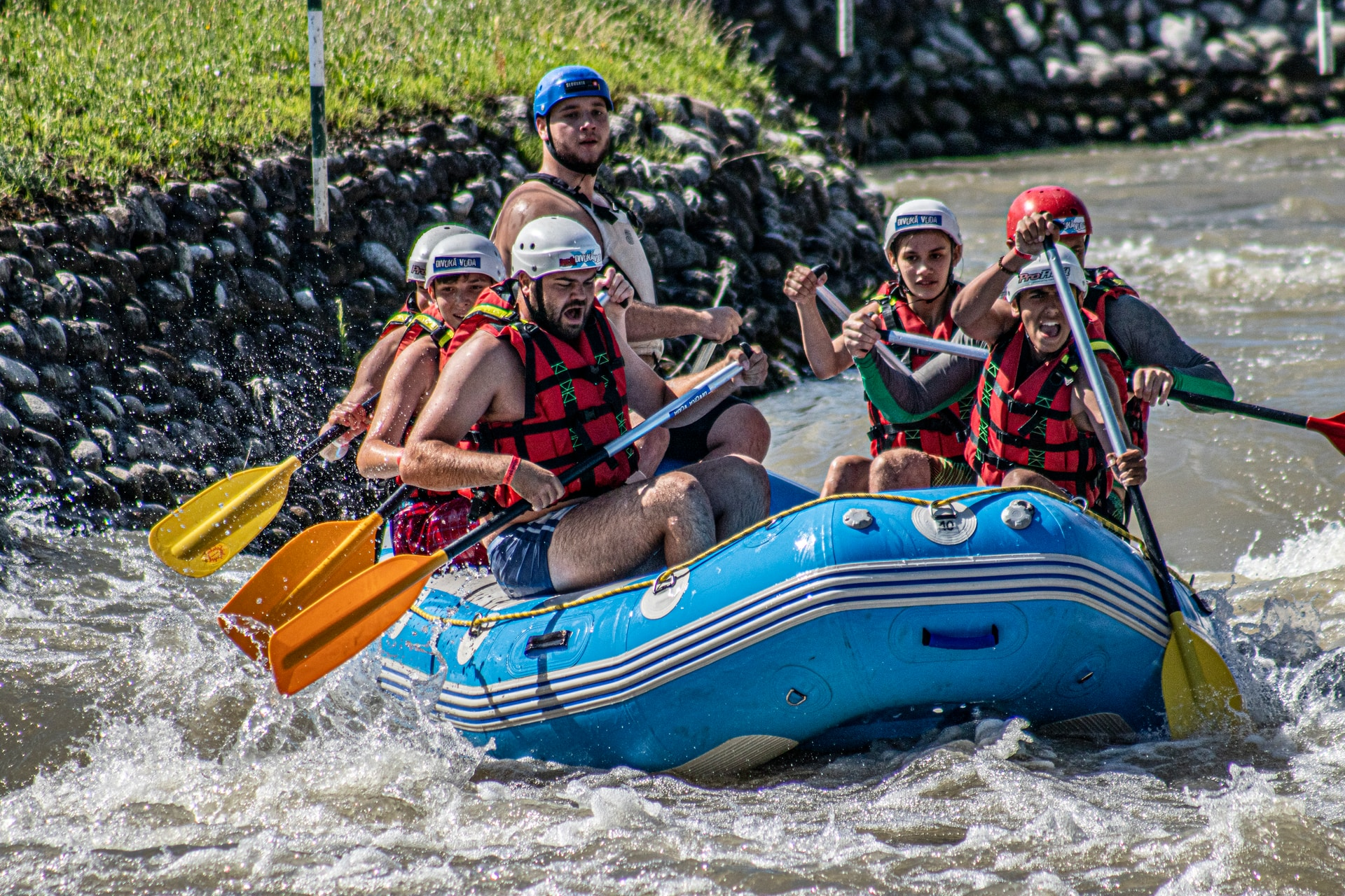 rafting με το σύντροφο