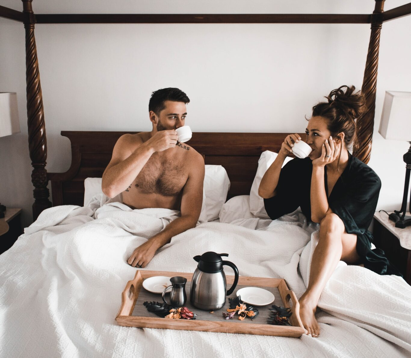 πρωινό στο κρεβάτι