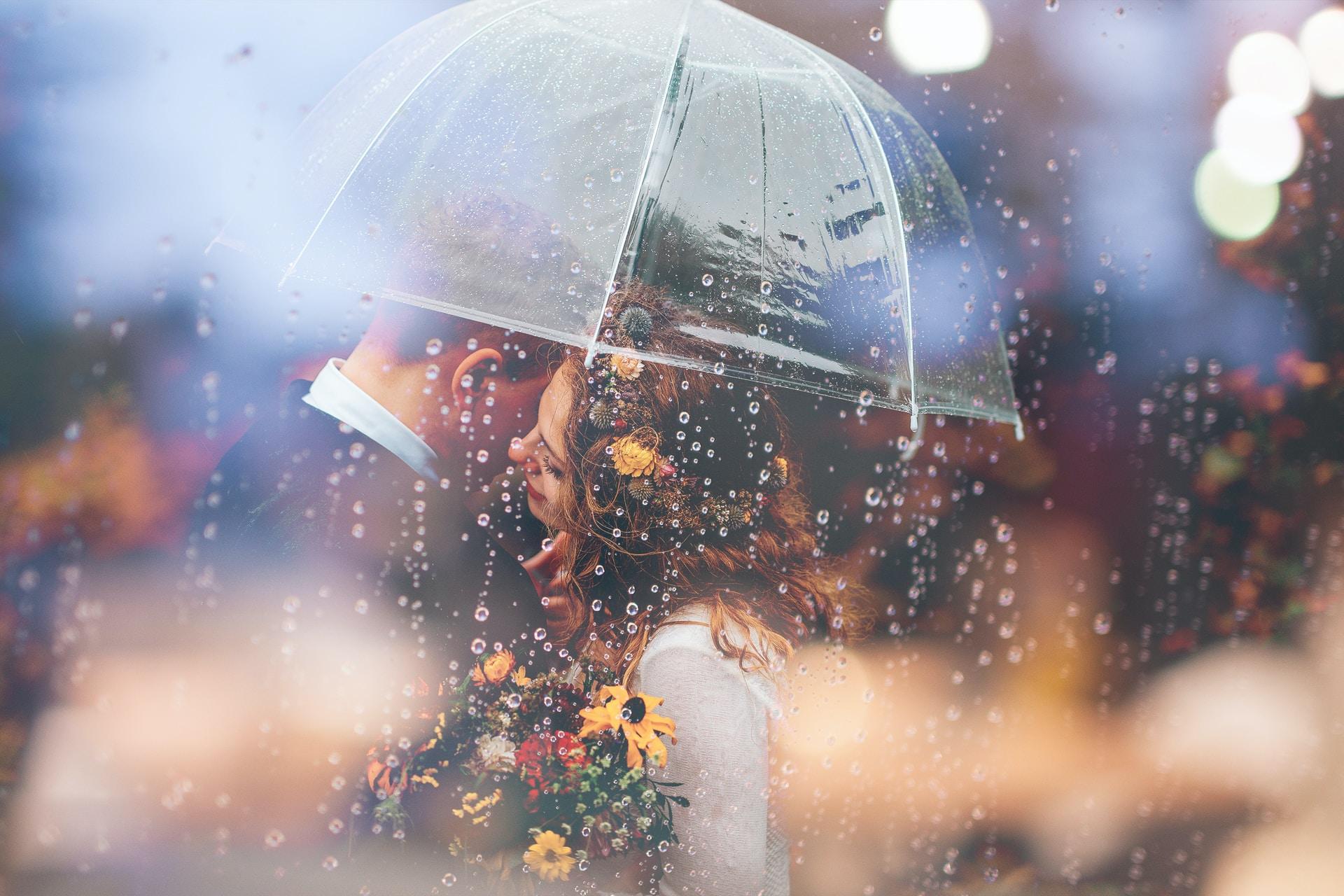Η ομπρέλες ως γαμήλια αξεσουάρ