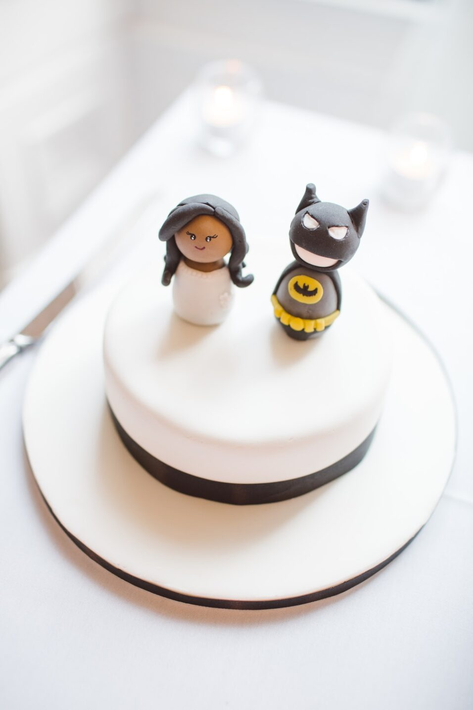 Batman cake topping